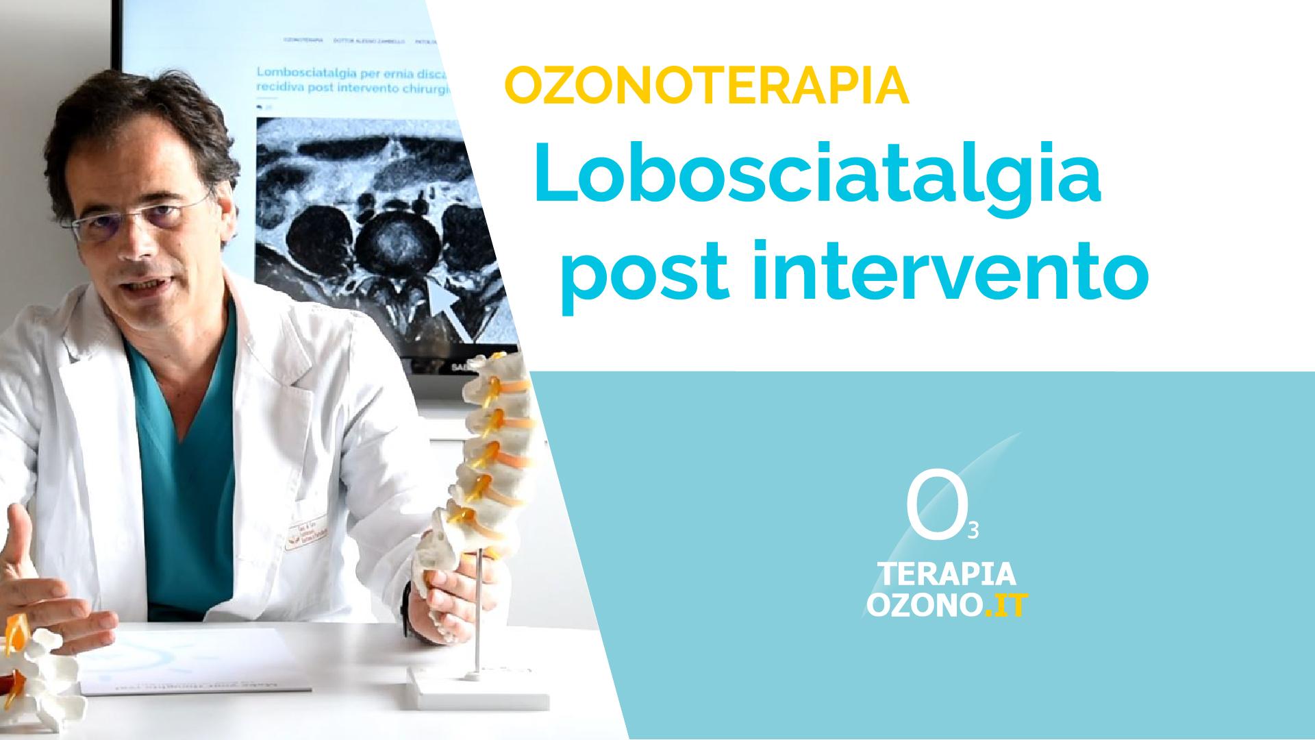 Lombosciatalgia post intervento